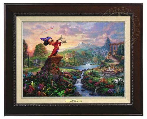 Fantasia - Canvas Classic (Espresso Frame)