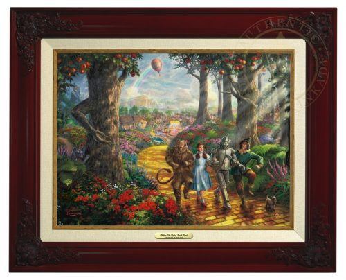 Follow  The Yellow Brick Road - Canvas Classic (Brandy Frame)