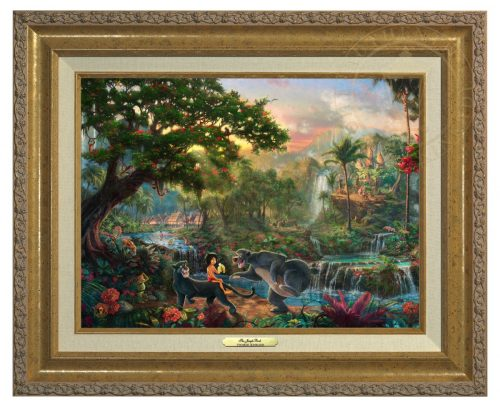 Jungle Book , The - Canvas Classic (Gold Frame)