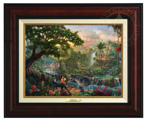 Jungle Book , The - Canvas Classic (Burl Frame)