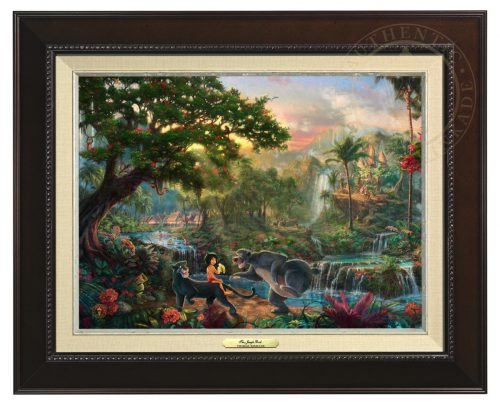 Jungle Book , The - Canvas Classic (Espresso Frame)