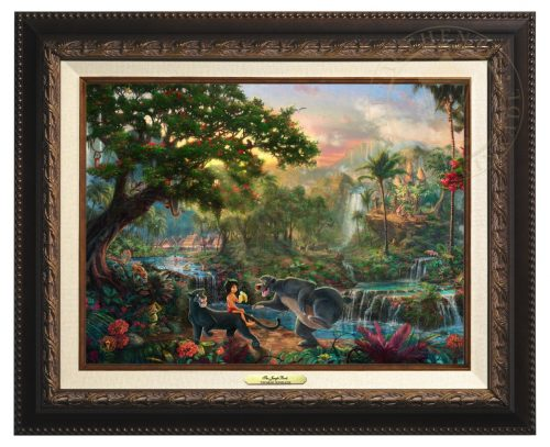 Jungle Book, The - Canvas Classic (Aged Bronze Frame)