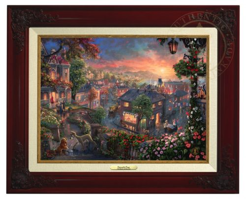 Lady and the Tramp - Canvas Classic (Brandy Frame)