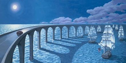 rob gonsalves toward the horizon