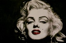 marco toro marilyn red lips ii
