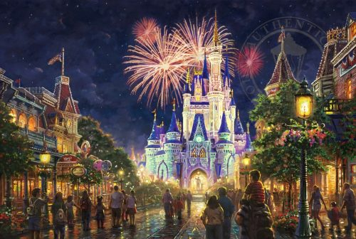 Main Street U.S.A.,® Walt Disney World® - Limited Edition Art