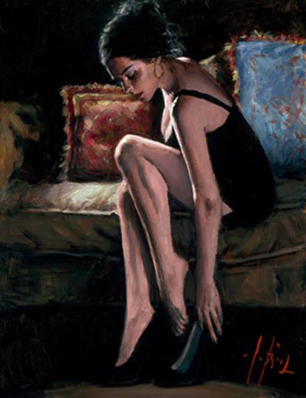 fabian perez blue and red iii