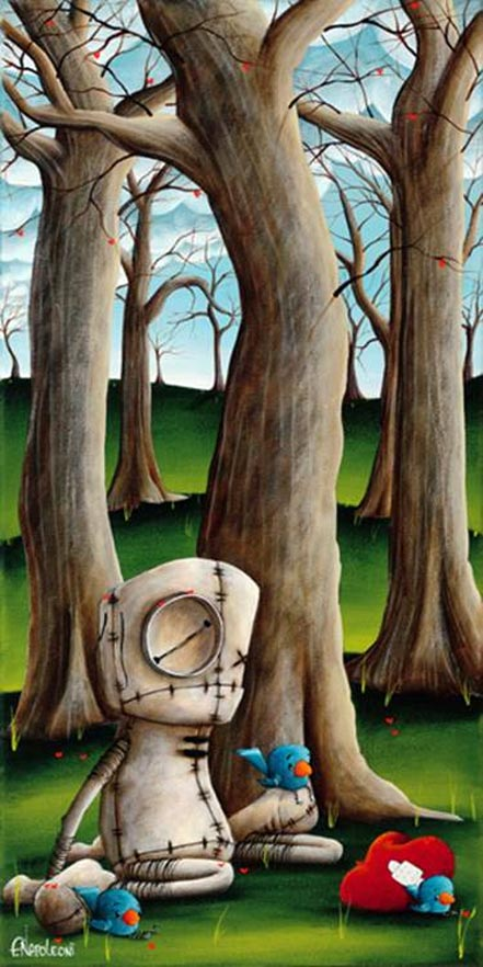 fabio napoleoni with time and a lot of love