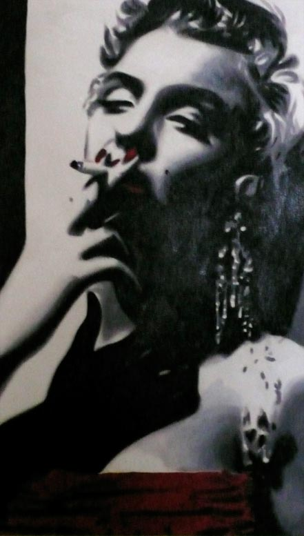 marco toro marilyn smoking