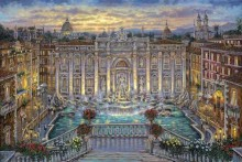 robert finale trevi fountain rome italy