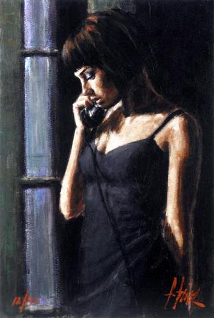 fabian perez the phone call