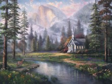 Valley Chapel - Limited Edition Art