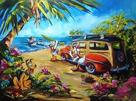 steve barton beach daze