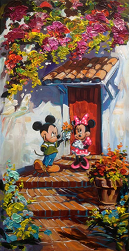 steve barton romance blossoms