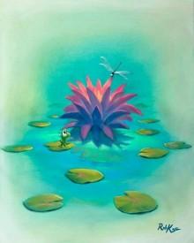 rob kaz dragonfly lily