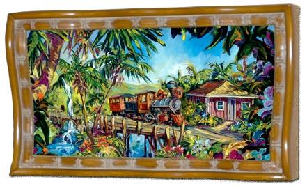 steve barton sugar cane train