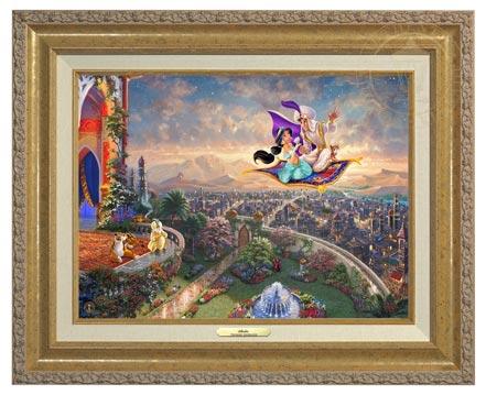 aladdin canvas classic gold