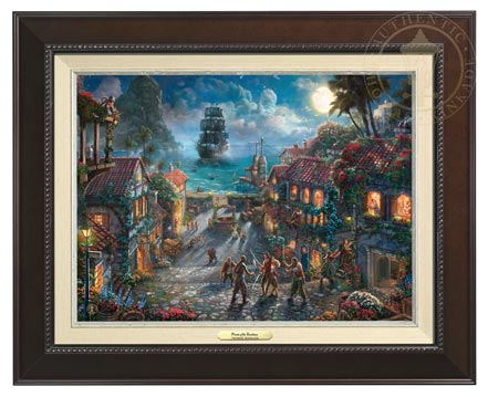 pirates of the caribbean canvas classics espresso