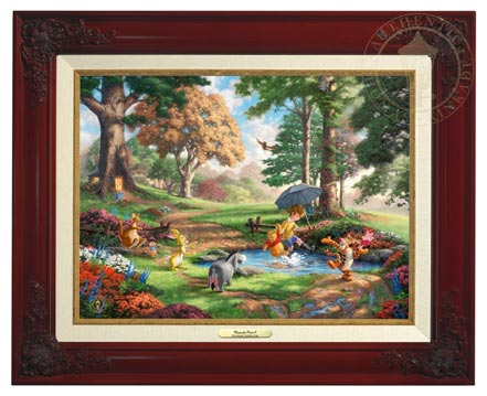 winnie the pooh i canvas classics brandy