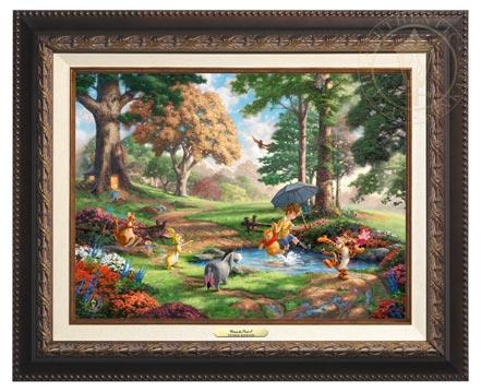 winnie the pooh i canvas classics aged bronze
