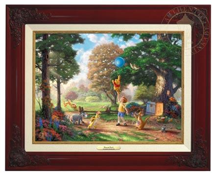 winnie the pooh ii canvas classics brandy
