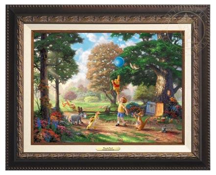 winnie the pooh ii canvas classics aged bronze
