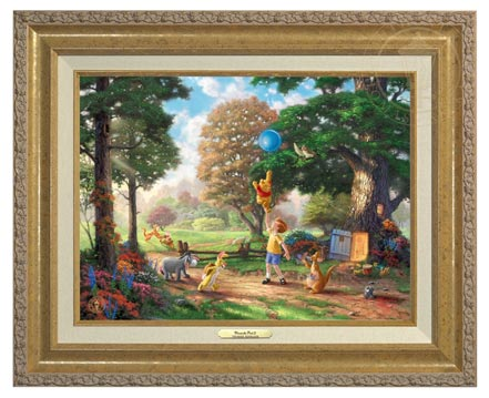 winnie the pooh ii canvas classics gold