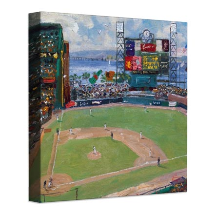 World Series™, National League Champions, San Francisco Giants™ – 14″ x 14″ Gallery Wrapped Canvas