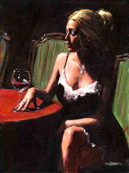 fabian perez english rose ii