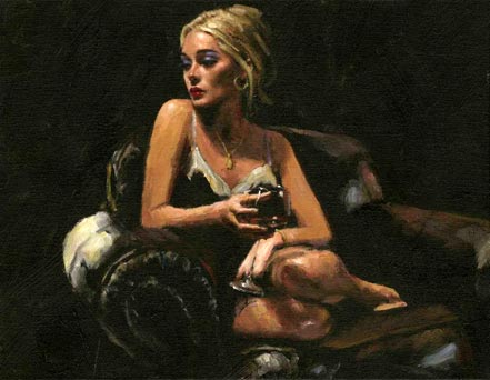fabian perez sally on the couch iii