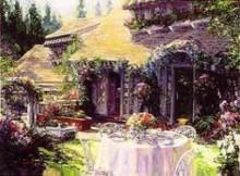 stephen shortridge breakfast in the garden