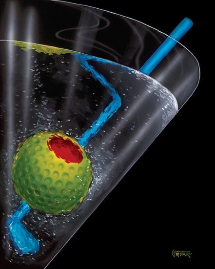 michael godard golf martini