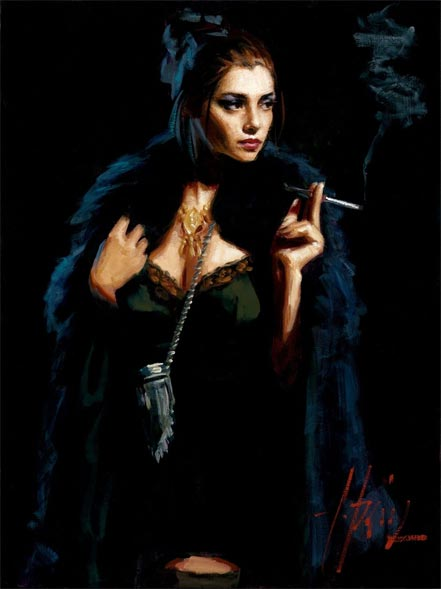 fabian perez blue rabbit ii