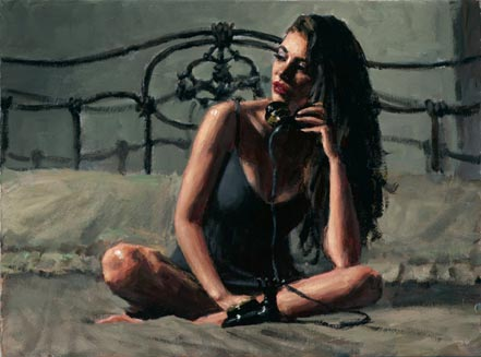 fabian perez black phone