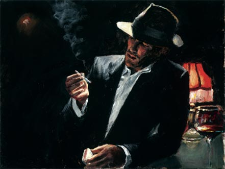 fabian perez enjoying the pleasures of the night iii