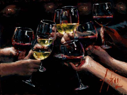 fabian perez for a better life viii white and red