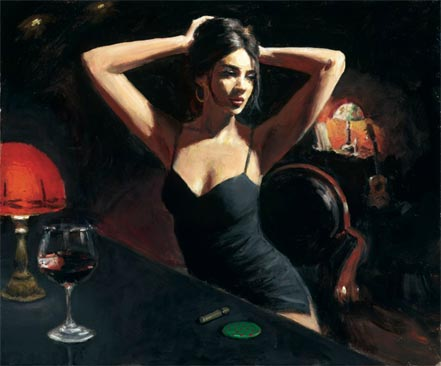 fabian perez yelena with tiffany
