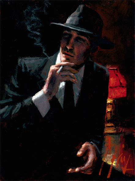 fabian perez hollywood nights