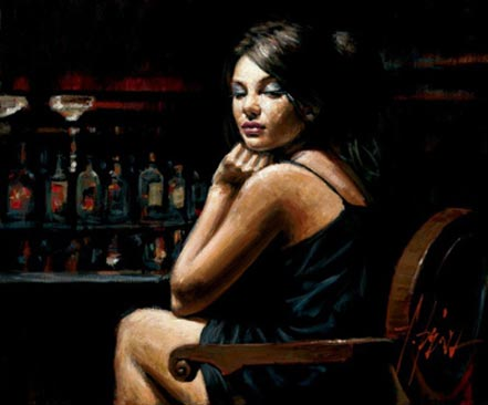 fabian perez saba at the bar