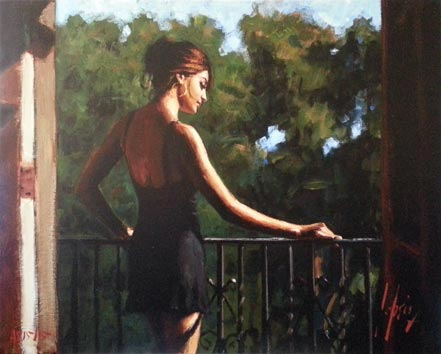 fabian perez saba in the sun ii