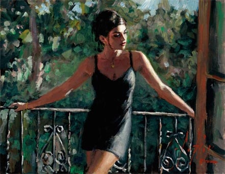 fabian perez saba in the sun iii