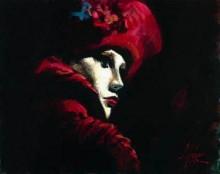 fabian perez venetian mask