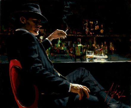 fabian perez whiskey at las brujas v