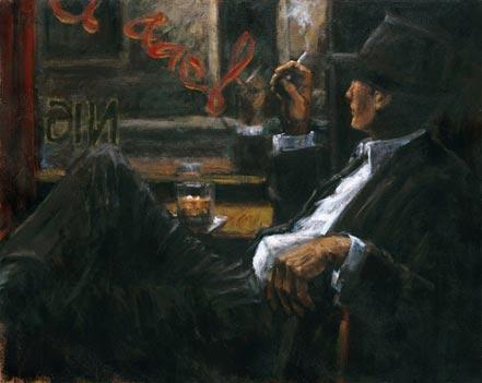 fabian perez whiskey at las brujas