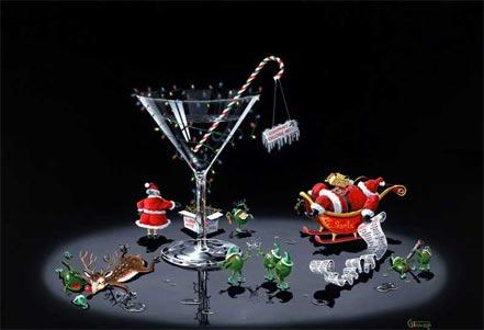 michael godard company christmas