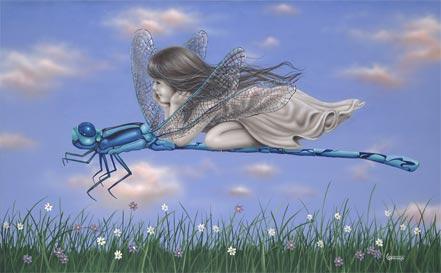 michael godard dragonfly ii