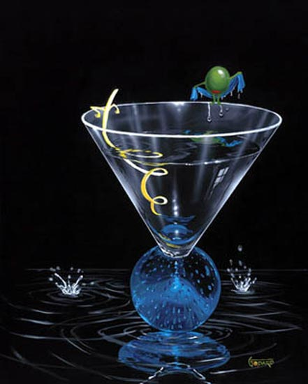 michael godard dry martini with a twist