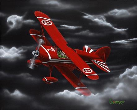 michael godard flying high