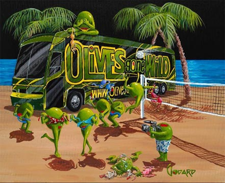 michael godard olives gone wild ii