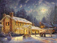 thomas kinkade national lampoons christmas vacation